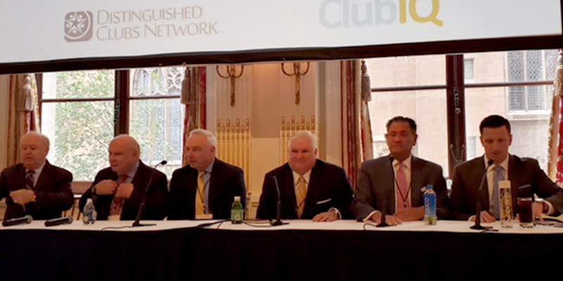 Daniel Farrell, CCM, presents at 2018 Boardroom Distinguished Club Summit in New York City.