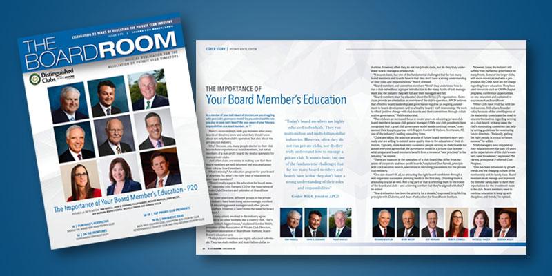 Daniel J. Farrell BoardRoom Magazine Feature