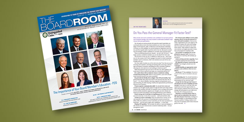 Ned Welc BoardRoom Magazine Feature